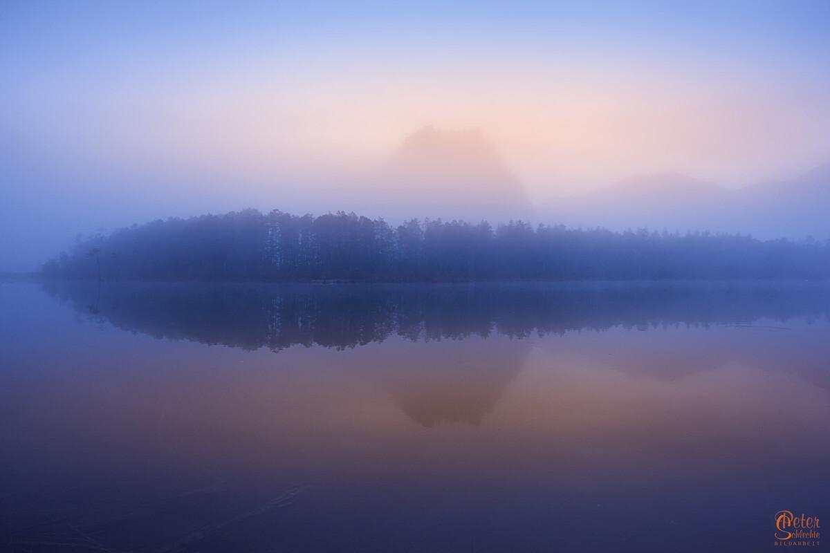 Almsee im Morgennebel 4
