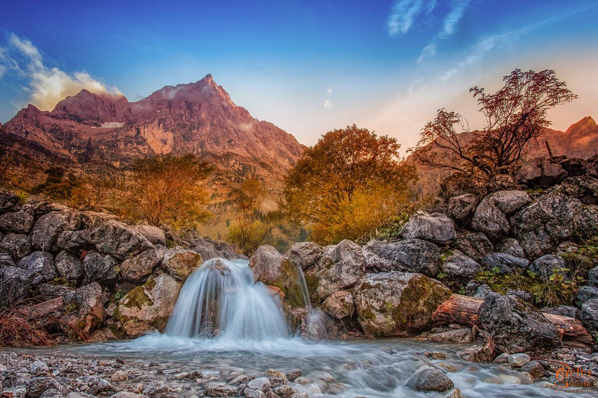 Wasserfall im Enger Talgrund