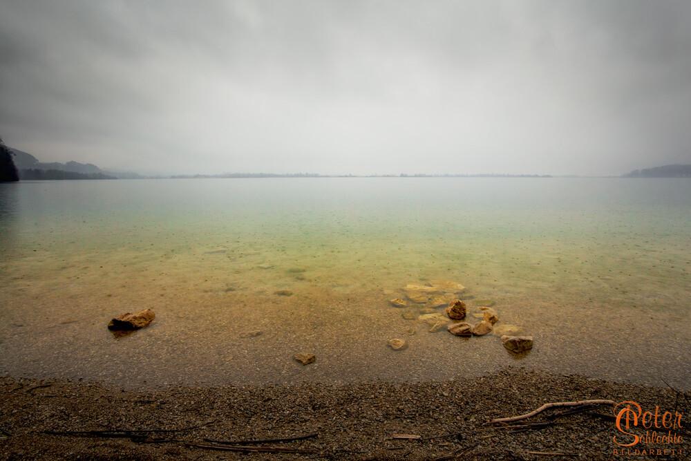 Regentag am Kochelsee.