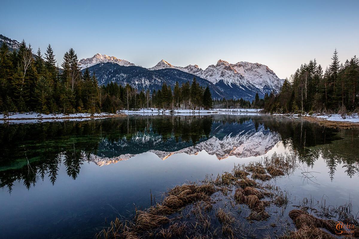 Krünsee am Karwendelfuß