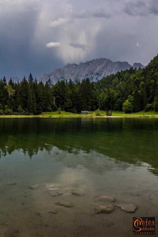 Ferchensee im Luttenseegebiet bei Mittenwald.